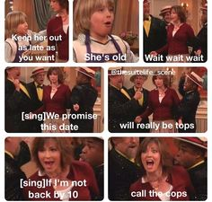 The Suite Life of Zack and Cody. It's also funny that the mom plays Jodi Mills Disney Love, Disney Magic, Disney And Dreamworks, Disney Pixar, Zack Et Cody, Disney Memes, Funny Disney, Old Disney Shows, Sprouse Bros