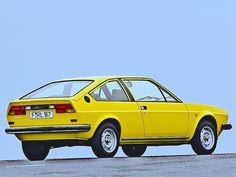 Alfa-Romeo Alfasud Sprint Veloce - Yellow Car