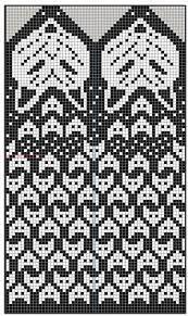 Bilderesultat for night owl mittens free pattern