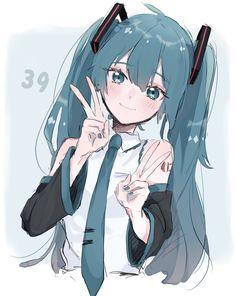 Loli Kawaii, Kawaii Anime Girl, Anime Art Girl, Anime Girls, Manga Girl, Miku Chan, Animes Yandere, Cute Anime Couples, Character Illustration