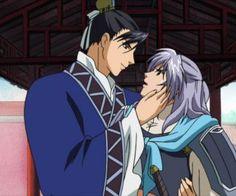anime shounen-ai the story of saiunkoku HD Wallpaper