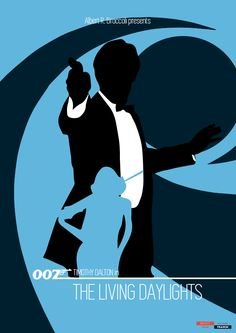 James Bond 007 - Poster Special Edition - The Living Daylights 2