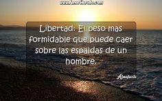Image result for frases sobre la libertad