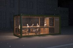 Convertible Cargo Cafes - Zucker&Betton LunchBox is a Pop-Up Restaurant for All Seasons and Spaces (GALLERY)