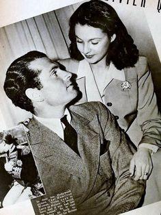 Vivien and new husband Laurence Olivier
