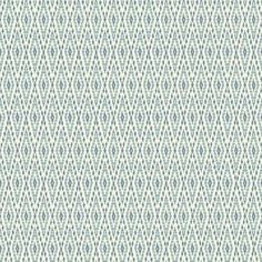 Aztec Wallpaper in Blue and White design by Carey Lind for York Wallcoverings