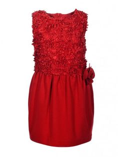 red dress with flower @ maisonamarasil.com