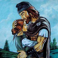 Dacian man and woman Baby Tattoos, Tatoos, Romanian Flag, Brasov Romania, Irish Mythology, Transylvania Romania, History Tattoos, Knife Art, Equine Art