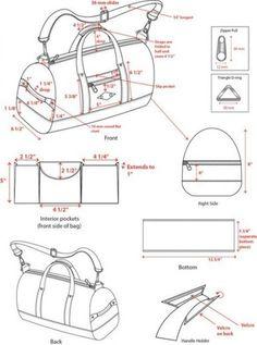 30+ Trendy Sewing Wallet Tuto Sac #sewing