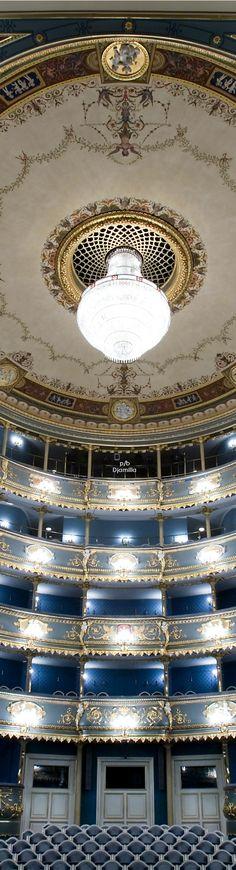 The Estates Theatre in Prague, Czech Republic.