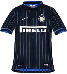 FlagWigs: New Inter Milan 2014/15 Nike Home Jersey Shirt Kit...