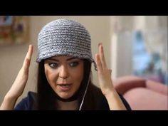 İRİ MAY TEKNİĞİYLE KOLAY VE HIZLI ATKI-BERE YAPIMI/SCARF AND HAT KNITTING WITH BIG LOOP TECHNIQUE - YouTube