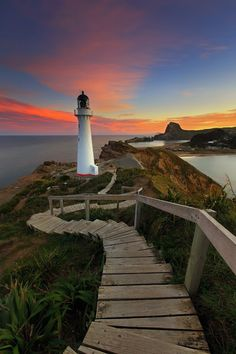 North Crown, Castle Point Lighthouse, Wairarapa Coast, New Zealand