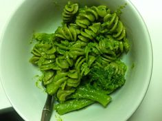 I made delicious vegan pesto. Follow the vitamix recipe and substitute vegan Parmesan for regular. Then freeze the rest in an ice cube tray for later!! Yum :)