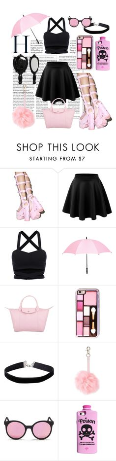 """""""Gothic Barbie"""" by qa8700777 on Polyvore featuring мода, Y.R.U., Leighton, Longchamp, Miss Selfridge, New Look, Spektre, Valfré, Anna Sui и gothic"""