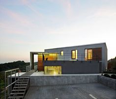 Amazing Beautiful Country House in Zagreb, CroatiaDesignRulz30 July 2012This residence, located on a steep site with clear views, is designed as a bent stretched out form with a flat roof. Designed by... Architecture
