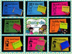 Candy Award Examples!