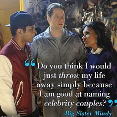 Little brothers need advice...especially when he wants to drop out of college to be a rapper.    Watch the latest episode of THE MINDY PROJECT Online at Citytv now!    http://video.citytv.com/video/detail/2081497395001.000000/mindys-brother/