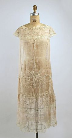 Dress  Boué Soeurs, 1925  The Metropolitan Museum of Art