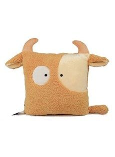 Comfortable and Soft Taurus Cotton Throw Pillow