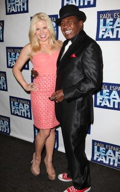 #Smash's Megan Hilty at the Leap of Faith opening!