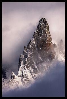 """""""Dent du Geant"""" by Javier Camacho Gimeno, via 500px.; Alps"""
