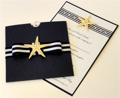 Nautical Invites - Sally Rose Studio - Bespoke Stationery and Floral Design