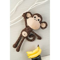 Patrick the Monkey Toy Sewing Pattern di StitchCraftCreate su Etsy