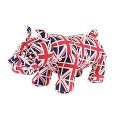 Ottoman Foot Stools & Novelty Door Stops Unique Gifts For Men, Cool Gifts, Ottoman Footstool, Ottomans, British Bulldog, Presents For Her, Gift Store, Union Jack, Soft Furnishings