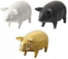 To go in the category: simply adorable things I want but don't need. pig speaker $59