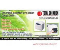 Total Solution #ayopromosi #gratis http://www.ayopromosi.com