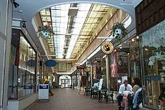 Paddock Arcade Mall The Paddock Arcade is a 19th-century shopping mall located in Watertown, New York. Built in 1850, it is the second oldest covered shopping mall in the United States. Wikipedia Address: Washington St. between Arsenal and Store Sts., New York Opened: 1850 Architectural styles: Gothic Revival architecture, Gothic architecture