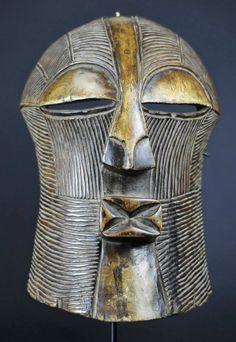 Masque Songye Mask Kifwebe African ART Africain Congo Belge Tribal Kongo Masker | eBay