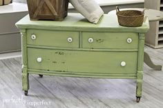 Miss Mustard Seed Milk paint | perfectly imperfect | DIY Painted Furniture | Lucketts Green