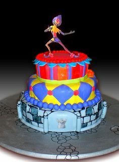 Hunchback of Notre Dame Cake (Robb's Birthday) by Gio's Cakes, via Flickr