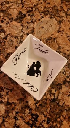 Beauty and the Beast Ring Dish, Belle Gift, Ring and Jewelry Storage, Disney Ring Dish by TheVinylNerd on Etsy https://www.etsy.com/listing/262472117/beauty-and-the-beast-ring-dish-belle
