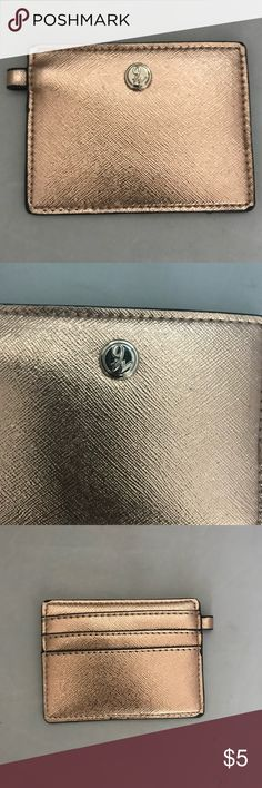 Nine West card holder that can be added to keys Nine West card holder with loop to be added to keys New without tags - never used Nine West Accessories Key & Card Holders
