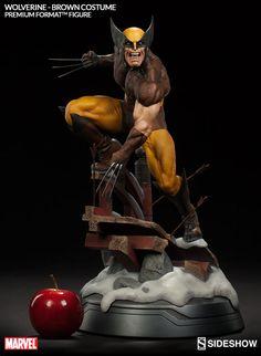 BLOG DOS BRINQUEDOS: Wolverine - Brown Costume