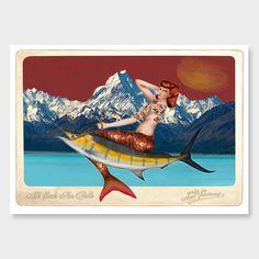 Mt Cook Sea Belle Art Print by Marika Jones - Giclee Prints NZ Art Prints, Art Framing Design Prints, Posters & NZ Design Gifts | endemicworld