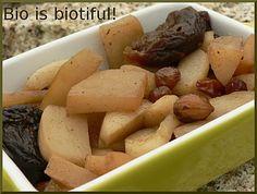 Navets aux fruits secs