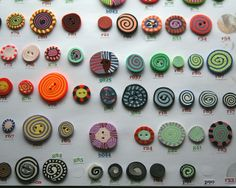 individual buttons Fimo