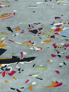 #Riprap #Platinium by Chen Chen & Kay Williams, Edition One, Tai Ping. #Handtufted #handmade #rug, 100% #wool