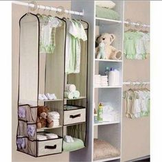 Honesty 24pcs Children Nursery Closet Organizer Set Baby Clothes Hanging Wardrobe Storage Baby Clothing Kids Toys Organizer Rapid Heat Dissipation Children Wardrobes Furniture
