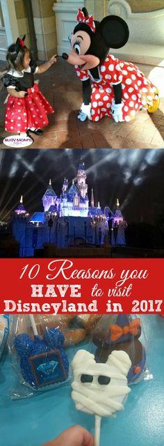 10 Reasons to Visit Disneyland in 2017