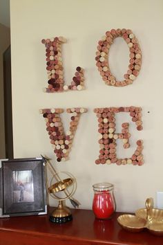 ombre wine cork letter w cork board pinterest crafts ombre and the ojays