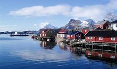 Svinøya Rorbuer (Fishermen's Cabins) – BaseCamp Lofoten