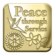 Russell-Hampton Co. Rotary Club Supplies: Gold 2012-2013 Theme Lapel Pin