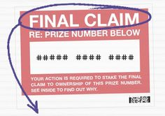 Stake the Final Claim to your PCH Prize Number now! Because someone in your area is hoping you will ignore it. Instant Win Sweepstakes, Online Sweepstakes, Pch Dream Home, Lotto Winning Numbers, Win For Life, Winner Announcement, Lottery Winner, Congratulations To You, Publisher Clearing House