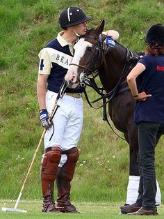 EQUINE KIND photo | Prince William. Love the face on the horse!