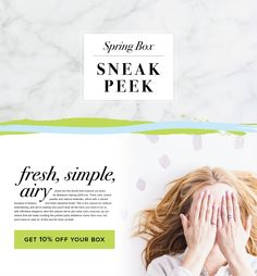 Our Spring Box Sneak Peeks are here! Check out MostessBox.com for hints about the theme and products in this season's box!  #spring #partyideas #planning #hostess #entertaining #sneakpeek #webdesign #subscription #preview